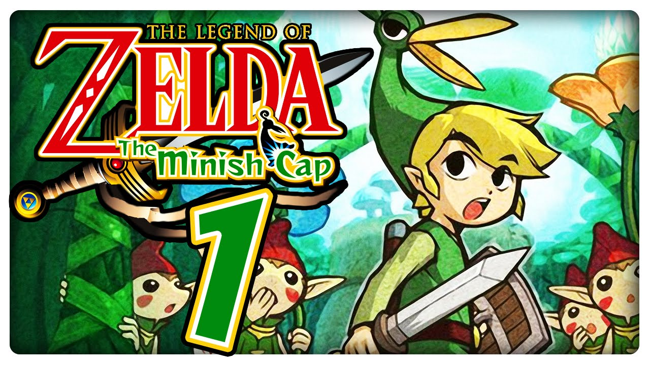 the legend of zelda the minish cap fr