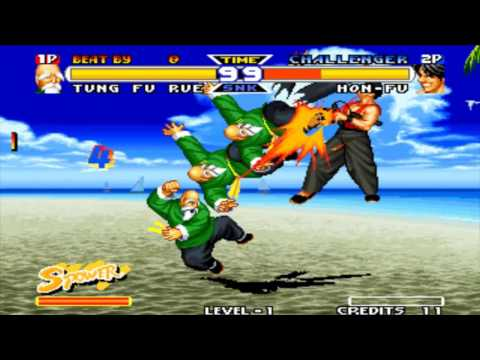 Real Bout Fatal Fury Special - Super Moves - Arcade