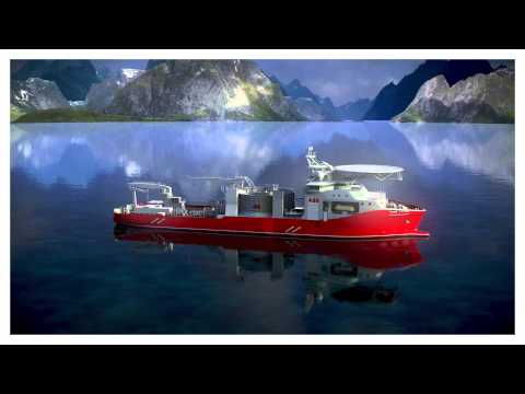 ABB cable laying vessel