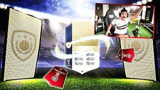 FIRST EVER WORLD CUP PACK OPENING!! WE PACKED AN ICON!! FIFA 18 WORLD CUP