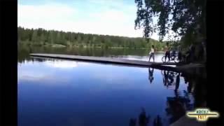 Свежая подборка курьёзов и смешного видео )