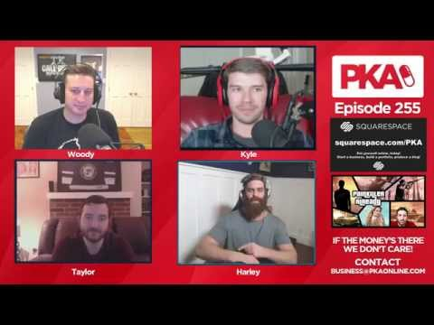PKA 255 w/ EpicMeal Time's Harley - Top 10% SHOW!! Game talk, Comic Talk, and more