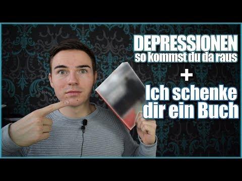 So therapiere ich meine DEPRESSIONEN + Ich SCHENKE dir ein Buch