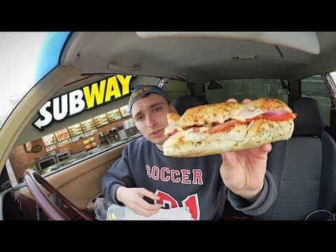 Subway (Сабвей): 15 см сэндвич за 119 руб? Сабы и снэки. Обзор еды.