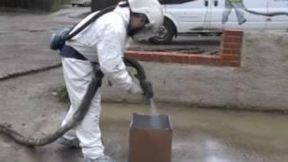 Polyprufe Polyurea Waterproof Linings Box Demonstration
