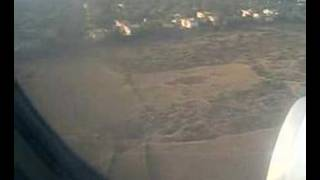 Landing at Indira Gandhi Airport, New Delhi
