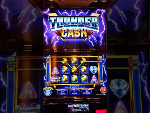 Finally a nice thunder Cash bonus at San Manuel
