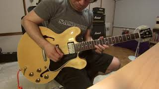 Someday After A While - Eric Clapton guitar copy