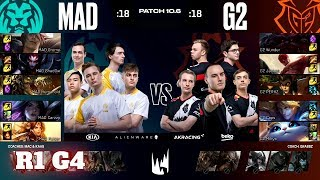 G2 Esports vs Mad Lions - Game 4 | Round 1 PlayOffs S10 LEC Spring 2020 | G2 vs MAD G4