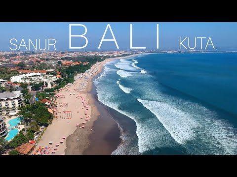 САНУР и КУТА (БАЛИ, Индонезия) | SANUR Beach And KUTA (BALI, Indonesia)