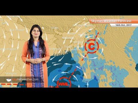 [Hindi] 16 अक्टूबर के लिए मौसम पूर्वानुमान: दिल्ली, मुंबई, लखनऊ, कोलकाता, हैदराबाद में शुष्क मौसम