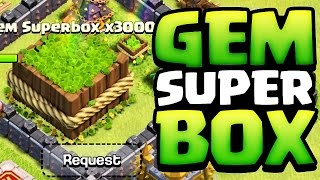 Clash of Clans - NEVER ENDING GEM BOX GLITCH(GEM SUPER BOX)!!!!!