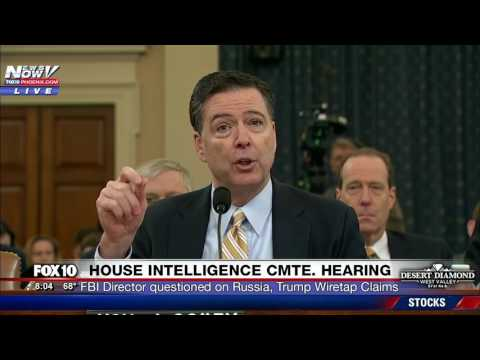 WOW: FBI Director Comey Says Obama COULD NOT Wiretap Trump Tower, Comments on Trump's Tweets