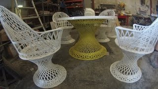 Spun Fiberglass Furniture Restoration