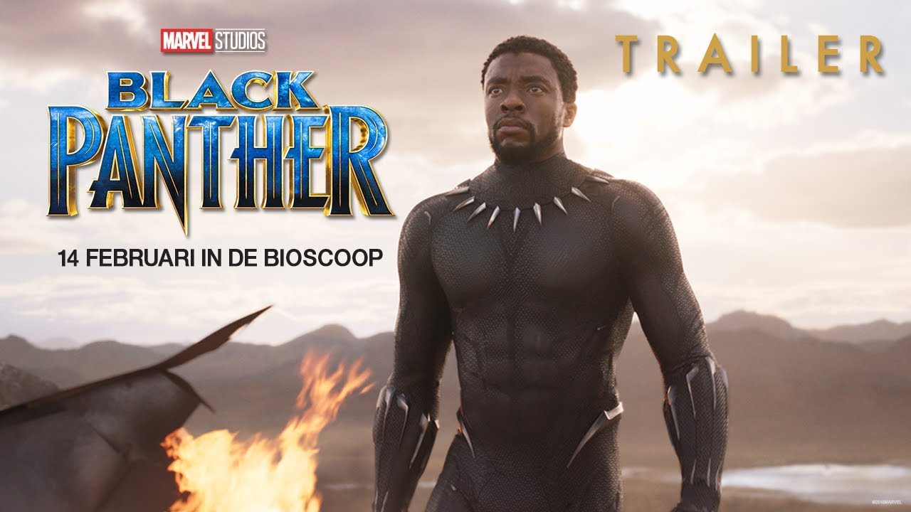 Black Panther - Official Trailer 2 (NL ondertiteld) - Marvel NL