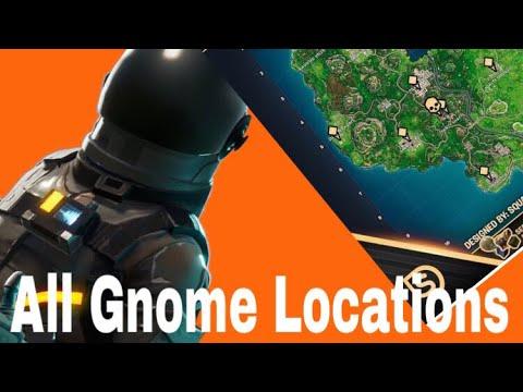 Fortnite | Retail Row Treasure Map+ GNOME LOCATION (Week  Cheat Sheet)