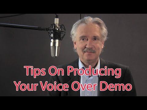 Your Voice Over Demo Reel - Here Are The 6 Key Ingredients