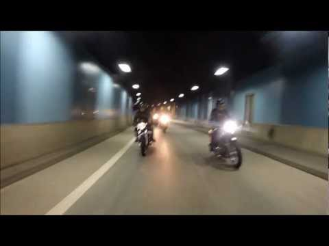 Riding Vintage Cafe Racers in Stockholm