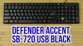 Распаковка Defender Accent SB-720 USB Black