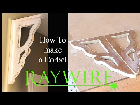 How to Build Farmhouse Corbels
