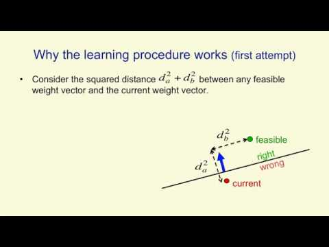 Lecture 2.4 — Why the learning works — [ Deep Learning | Geoffrey Hinton | UofT ]