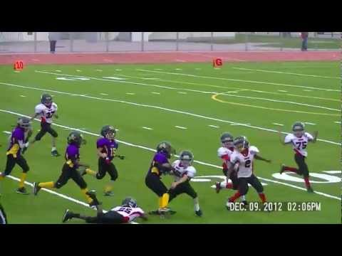 Joshua Glenn breaking tackle after tackle for a TD!