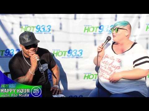 Flo Rida Meet and Greet HG Supply & interview w/ Zann