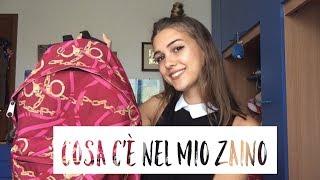 COSA C'È NEL MIO ZAINO | BACK TO SCHOOL