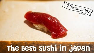 The Best Sushi in Japan - Seven Years Later