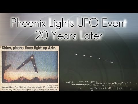 Phoenix Lights UFO Event - 20 Years Later