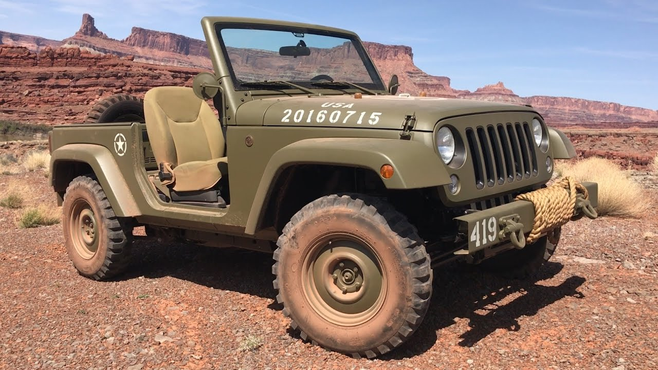 2017 Easter Jeep Safari Concepts In Moab Utah And Friends