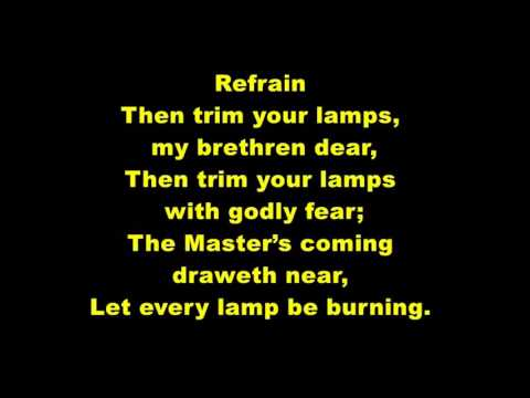595- Let Every Lamp Be Burning