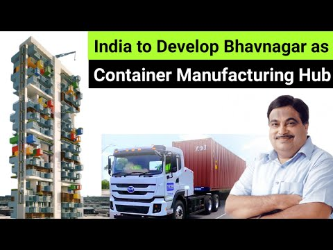"100% Made in India ""World-Class"" Container Manufacturing HUB in Gujarat 🔥 Skyscraper ??"