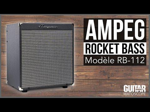 Test du Ampeg Rocket Bass RB-112