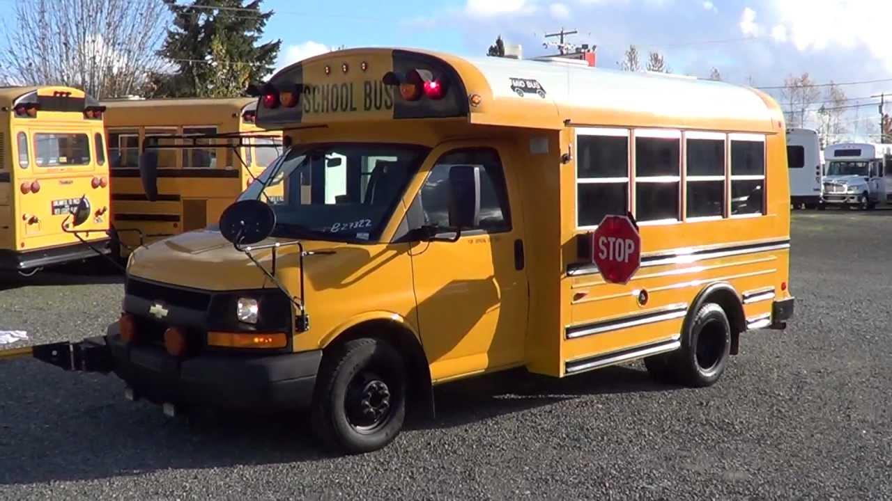 Northwest Bus Sales - 2004 Chevrolet Mid Bus Type A School Bus For Sale -  B27322