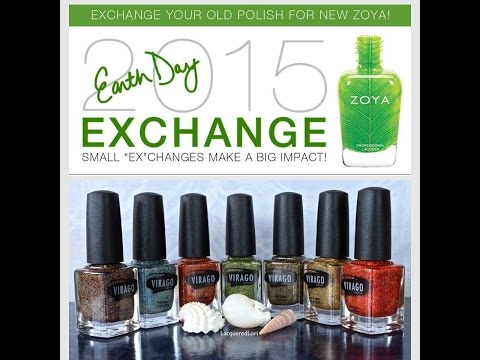 Nail Polish Haul! – Zoya Earth Day Sale and Virago Varnish