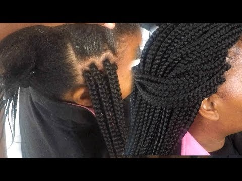 How To Grip Box Braids Roots for Beginners - Views From A Living Room Stylist