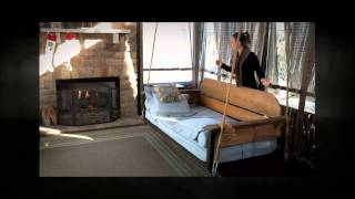 Adjustable Porch Furniture By The Porch Company - Swing Bed & Porch Swing