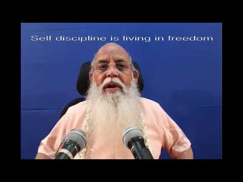 Practice of Self Discipline 1 of 6 @ Coimbatore 2017(English)1213 065837 NR YT