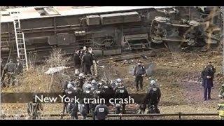 Train Crash in New York: Four People Killed and 63 Injured / Accidente Tren Nueva York [IGEO.TV]