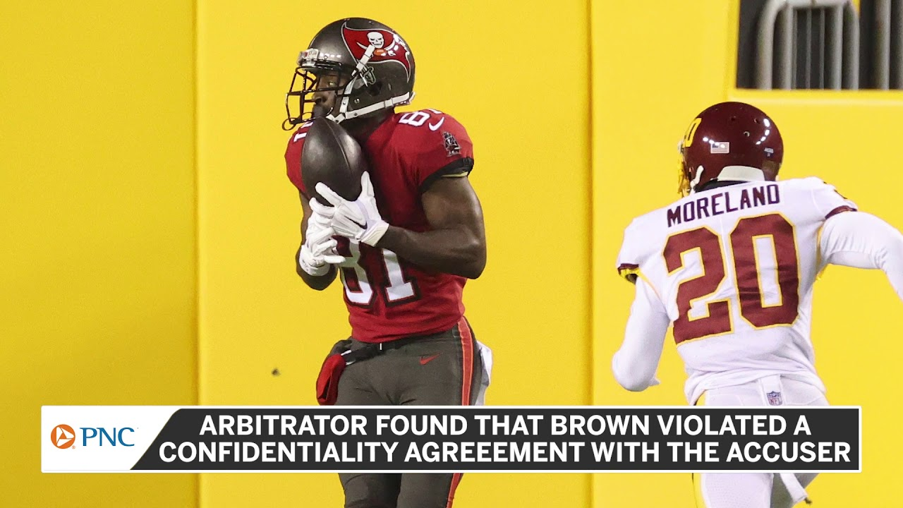 Antonio Brown Ordered to Pay $100000 to Rape Accuser