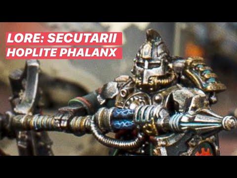 Secutarii Hoplite Phalanx Lore - Mechanicum - Horus Heresy - Warhammer 40k - 30k - Games Workshop
