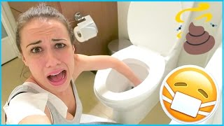 APARTMENT TOUR! (& sticking my hand in the toilet!)