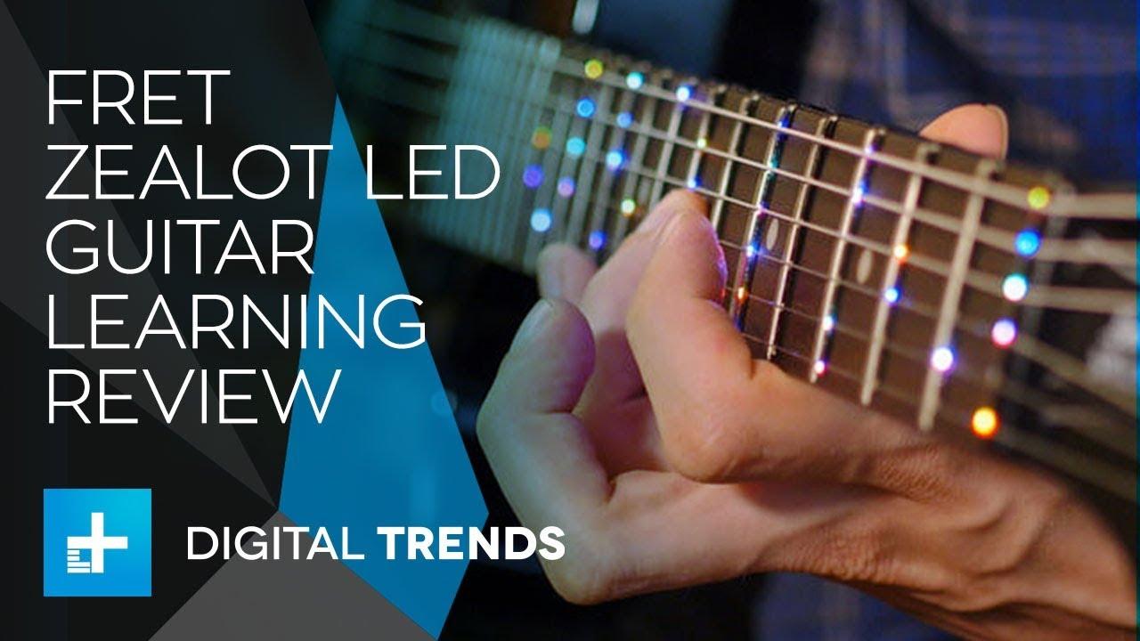 Fret Zealot LED Guitar Learning System – Hands On Review