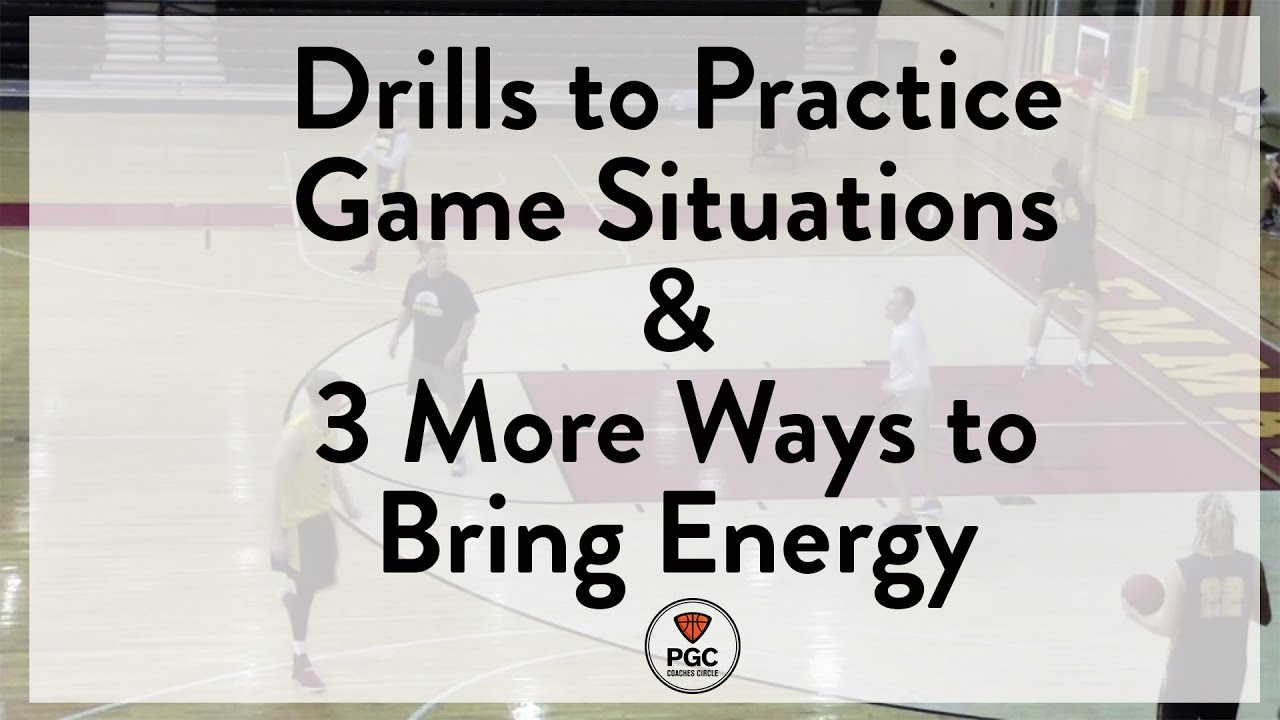 Practicing Game Situations & Bringing Energy | Week 6 | PGC Coaches Circle | Powered by TeamSnap
