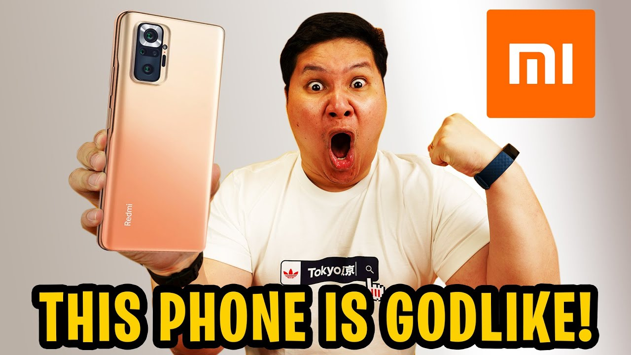 REDMI NOTE 10 PRO MAX - THIS PHONE IS GODLIKE