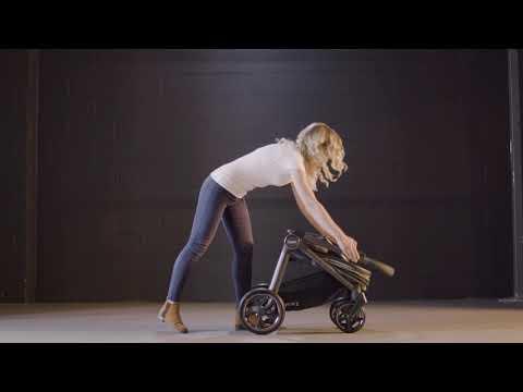 Прогулочная коляска Oyster 3 [200283]. Видео №4