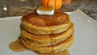 Pumpkin Pancakes - Fall / Halloween  Recipe Ideas By Mommy Is A Chef Episode 43