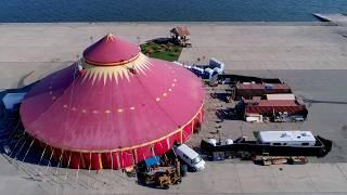 Tortona Circus Tent Vau De Vire Society Alameda, CA Circus, Cabaret, burlesque