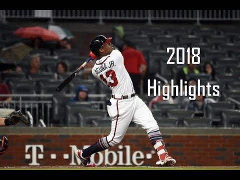 Ronald Acuña Jr. - 2018 Rookie Highlights | Atlanta Braves